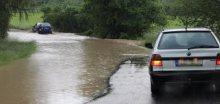 Vydatné srážky budou zvedat hladiny řek, hlavně na severu