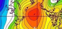V Arktidě i Antarktidě je led nejnižší v historii  měření