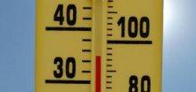 Pondělní první tropické teploty a hned s teplotou až +33,7°C