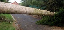 Na Kroměřížsku bylo poškozeno asi 15 střech rodinných domů