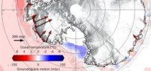 Teplejší voda Jižního oceánu rozpouští ledový příkrov