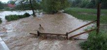 V bouřkách napršelo téměř 70 mm srážek (Krnov)