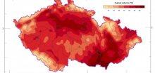 Červen 2018 byl na území ČR teplotně silně nadnormální