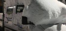 Balkán zasypal sníh, napadlo 15 až 40 cm nového sněhu