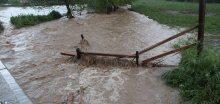 Silné deště zvednou hladiny řek a potoků až na 1. či 2.SPA