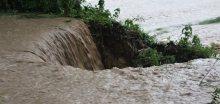 Extrémní stupeň na zvedání hladin řek a potoků