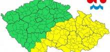 Východní polovinu Česka zasáhnou silné bouřky