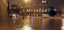 Povodně v Itálii, v Římě nouzový stav