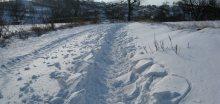 V Krušných horách je sněhu až moc