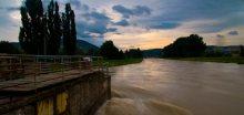 Situace na řekách se postupně sklidní