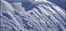 Na Lysé hoře v Beskydech leží 242cm sněhu