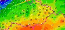 Na Břeclavsku spadlo až 30 mm srážek