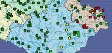 Řeky i přes stav ohrožení budou i nadále stoupat