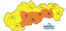 Na Slovensku může místy napadnout 20 až 50cm nového sněhu