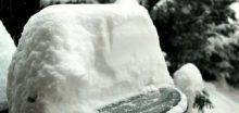 Foto: jižní Čechy zasypal sníh, místy napadlo až 30cm!