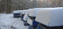 V jižních Čechách napadlo téměř půl metru sněhu !