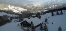 V noci na pondělí sněžilo nejvíce na horách, místy až 10cm