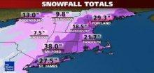 Sněhová bouře Nemo: Connecticut hlásí až 96cm nového sněhu