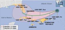Hurikán Ike zesílil na čtvrtý stupeň, směřuje na Kubu