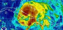 Sledujeme hurikán přes srážkový radar
