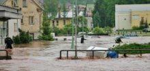 Průběh povodní v Čechách dne 2.června roku 2013