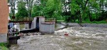 Povodně na západě Čech - Sokolovsko a Chebsko
