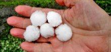 V úterý se na Liberecku prohnaly silné bouřky s krupobití