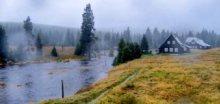 V Jizerských horách spadlo za 24 hodin až 123mm srážek