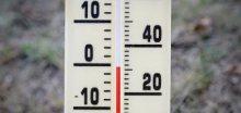 Po neděli bude sněžit a teploty spadnout pod bod mrazu