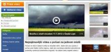 TVpočasí.cz - nejzajímavější videa o počasí na jednom místě