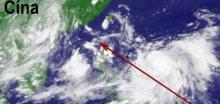Tajfun Hagupit udeřil na Čínu, evakuováno 100.000 lidí