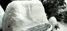 Severoamerický kontinent bičoval silný vítr a sněžení