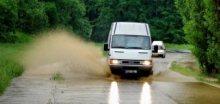 Hladiny řek budou stoupat, na východě naprší až 90mm srážek