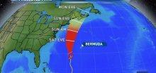 Nová tropická bouře Kyle může zasáhnout Novou Anglii a