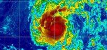První letošní hurikán Amanda dosáhl 5. kategorie