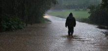 Oblast kolem Orlických hor byla přívalovým deštěm zatopena