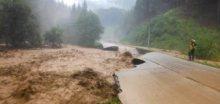 Přívalová povodeň zaplavila Vrátnou dolinu na Slovensku