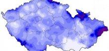 Na území ČR napršelo v červenci průměrně 103mm srážek