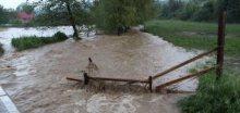 Bouřky a intenzívní srážky v Chorvatsku a okolí