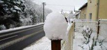 V pondělí bude opět sněžit, očekáváme ojediněle až 7cm