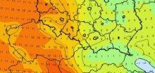 Sobotní teploty trhaly rekordy, na SZ Čech bylo až +16,8°C