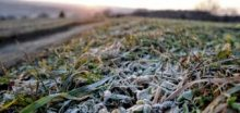 Po tropickém počasí přišly mrazy, na Šumavě bylo jen -3,2°C