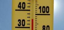 Dnešní maximální teploty se mohou vyšplhat až na 33°C