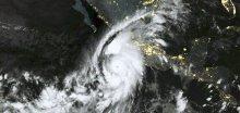 Nejsilnější hurikán Patricia v Tichém oceánu v číslech