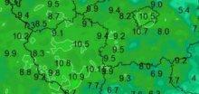 Vlažná letní noc převládala ve čtvrtek v Čechách