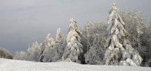 Během pátku napadlo na Lysé hoře v Beskydech 30cm sněhu