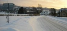 Na Vysočině do úterního rána napadne ojediněle 15cm sněhu