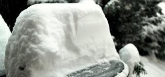 Pozor na bohatou sněhovou nadílku, na horách až 40cm sněhu