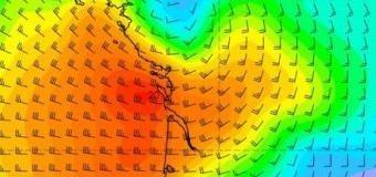 Západní Francii zasáhl silný vítr s rychlostí přes 100 km/h