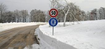 Na severních horách se budou vytvářet sněhové jazyky